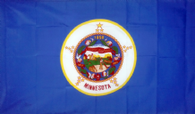 MINNESOTA - 5 X 3 FLAG